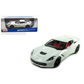 Maisto 31677 Chevrolet Corvette Stingray Z51, white