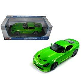 Maisto 31128 Dodge Viper SRT GTS 2013, metallic green