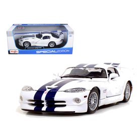 Maisto 31845 Dodge Viper GT2, white