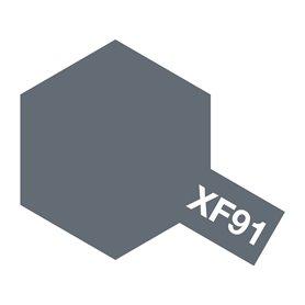 Tamiya 81791 XF-91 IJN gray (Yokosuka Arsenal), 10 ml, burk med skruvlock. Tamiya Akrylfärg. XF91