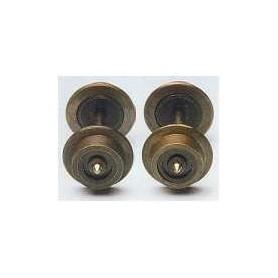 Fleischmann 20024 Hjulaxel, 5 mm, isolerad på båda sidorna, 2 st