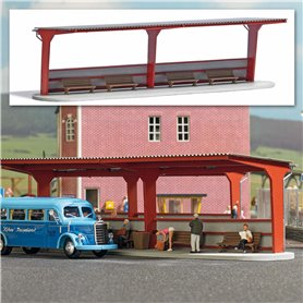 Busch 1377 Busshållplats