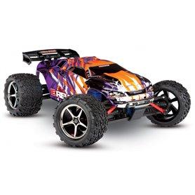 Traxxas 71076-3-PRPL E-Revo 1/16 VXL 4WD RTR TQi TSM Lila - Med Batt/Laddare