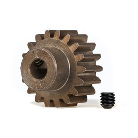 Traxxas 6491X Pinion Drev 18T 1.0M Pitch för 5mm Axel