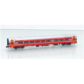 "ASM 187605 Personvagn typ NSB B7-4 ""Stavanger"" ""Tomatsuppe"""