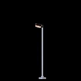 Brawa 84032 Gatlampa, rektangulär, 1 st, höjd 115 mm, LED lampa
