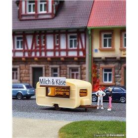 "Vollmer 47620 Sales caravan ""Milch & Käse"""