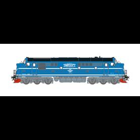 "Dekas DK-8750092 Diesellok Nohab TMX 1042 ""Tågkraft"" DC Digital"