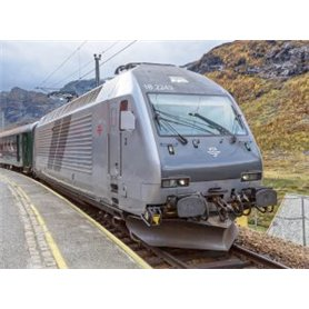 "ASM 188692 Tågset NSB express train dining car FR7-3 with loco El 18 ""Stavanger Current Design"