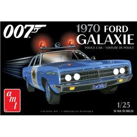 "AMT 1172 Ford Galaxie Police Car 1970 ""James Bond"""