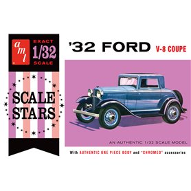 AMT 1181 Ford Scale Stars V-8 Coupe 1932