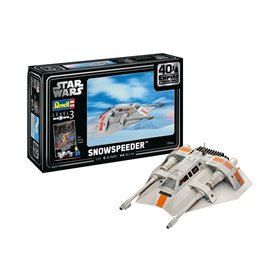 "Revell 05679 Star Wars Snowspeeder-40th Anniversary ""The Empire Strikes Back"" ""Gift Set"""