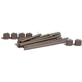 Busch 1379 Timber for stockyard