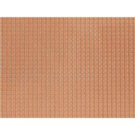 Noch 60350 Pantile, red, 28 x 10 cm