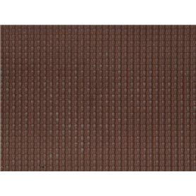 Noch 60351 Pantile, dark red, 28 x 10 cm