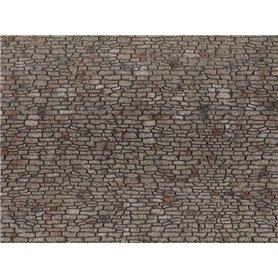 Noch 60371 Quarrystone Wall, 28 x 10 cm