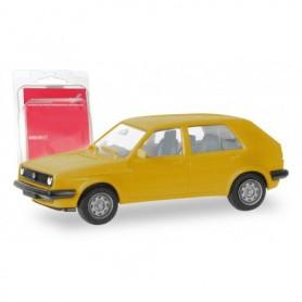Herpa 012195-008 Herpa MiniKit. VW Golf II 4 doors, traffic yellow