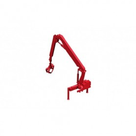 Herpa 054157 Hiab X-HIPRO 232-E3 loading crane for timber trucks, red