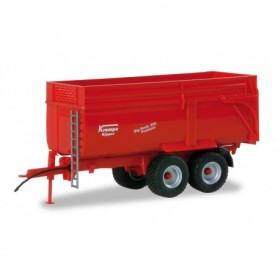 Herpa 076340-002 Krampe trailer Big Body 650, rims silver sprayed