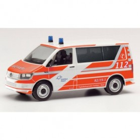 Herpa 095617 Volkswagen T6 Bus airport fire department Fraport