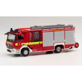Herpa 095624 Mercedes-Benz Atego '13 Ziegler Z-Cab volunteer fire brigade Wietmarschen | Lohne district