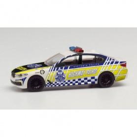 Herpa 095655 BMW 5 Series sedan Victoria Police Highway Patrol
