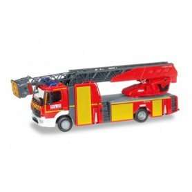 Herpa 095679 Mercedes-Benz Atego '13 turntable ladder fire brigade Mulhouse