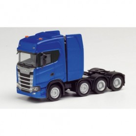 Herpa 308601-002 Scania CS HD heavy duty rigid tractor, ultramarine blue