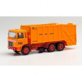 Herpa 311946 Roman Diesel press garbage truck 'Sperr Müll Service'