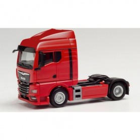 Herpa 312516 MAN TGX GM tractor, red