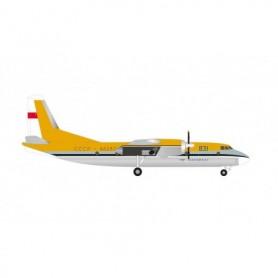 Herpa Wings 571043 Flygplan Aeroflot Antonov AN-24B - Demonstration aircraft, Le Bourget 1969 – CCCP-46280