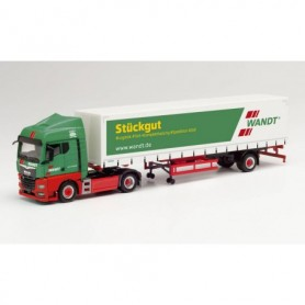 Herpa 312684 MAN TGX GM curtain canvas semitrailer 'Spedition Wandt' (Niedersachsen|Braunschweig)
