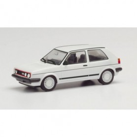 Herpa 420846 VW Golf II GTI with sport rims, white