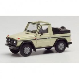 Herpa 420860 Mercedes-Benz G-Modell Cabrio, sand beige