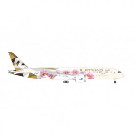 Herpa Wings 534611 Flygplan Etihad Airways Boeing 787-9 Dreamliner – A6-BLS 'Choose Japan'