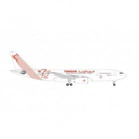 Herpa Wings 534659 Flygplan Tunisair Airbus A330-200 – TS-IFM 'Tunis'