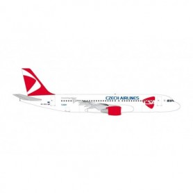 Herpa Wings 534680 Flygplan CSA Czech Airlines Airbus A320 - new 2020 colors – OK-HEU