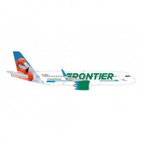 Herpa Wings 534697 Flygplan Frontier Airlines Airbus A320neo – N308FR 'Flo the Flamingo'