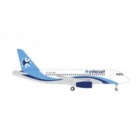 Herpa Wings 534710 Flygplan Interjet Airlines Sukhoi Superjet 100 – XA-PPY