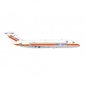 Herpa Wings 571012 Flygplan Aero Lloyd Douglas DC-9-30 – D-ALLB