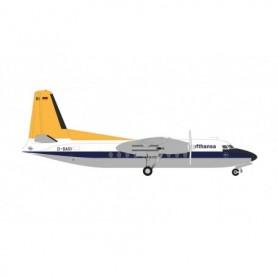 Herpa Wings 571029 Flygplan Lufthansa Fokker F27 Friendship – D-BARI