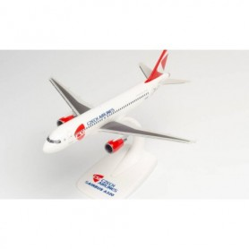 Herpa Wings 613033 Flygplan CSA Czech Airlines Airbus A320 - new 2020 colors – OK-HEU