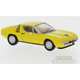 Brekina 870074 Alfa Romeo Monteral, gul, 1970, PCX