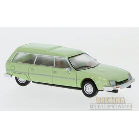 Brekina 870081 Citroën CX Break, metallic-ljusgrön, 1976, PCX