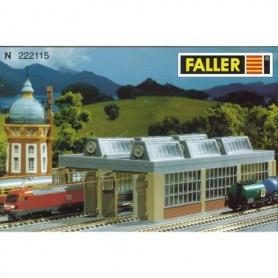 Faller 222115 Lokstall, 2 portars