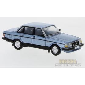 Brekina 870119 Volvo 240, metallic-blå, 1989, PCX
