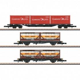 Märklin 82663 Container Transport Car Set