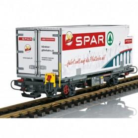 LGB 46897 RhB 'Spar' Container Car