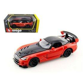Burago 22114 Dodge Viper SRT 10 ACR orange/svart