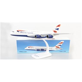 Herpa Wings 612814 Flygplan British Airways Airbus A380-800
